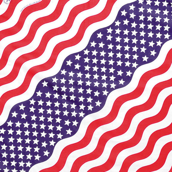 Stars and Stripes Bandanna 3500-USA
