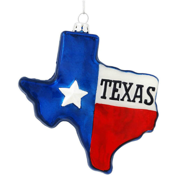 State of Texas Glass Ornament 1174653