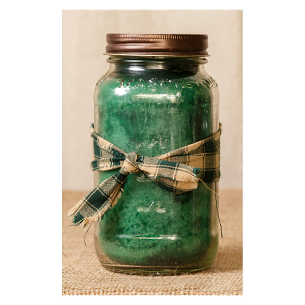 Super Scented Apple Spice Mason Jar Candle  25 oz 3C1559-25