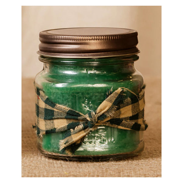 Super Scented Apple Spice Mason Jar Candle  8 oz 3C1559-8