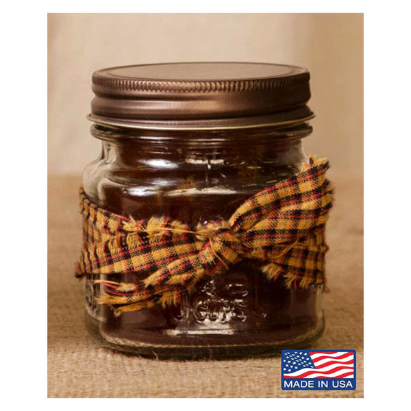 Super Scented Banana Nut Mason Jar Candle 8 oz 3C1560-8