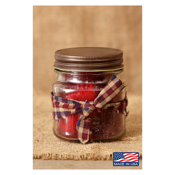 Super Scented Christmas Spice Mason Jar Candle 8 oz 3C1573-8