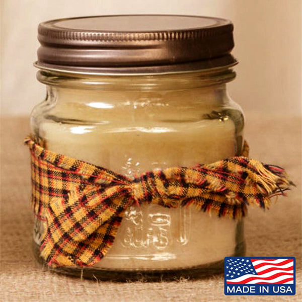 Super Scented Snickerdoodle Mason Jar Candle 8 oz 3C1574-8