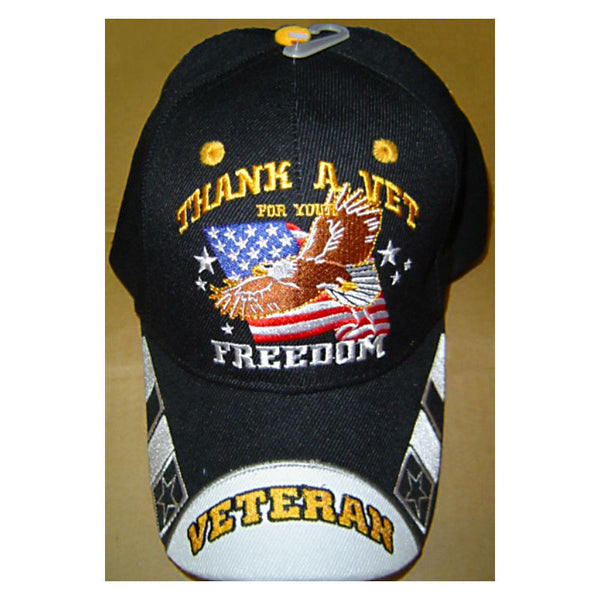 Thank A Vet For Your Freedom Hat CP319