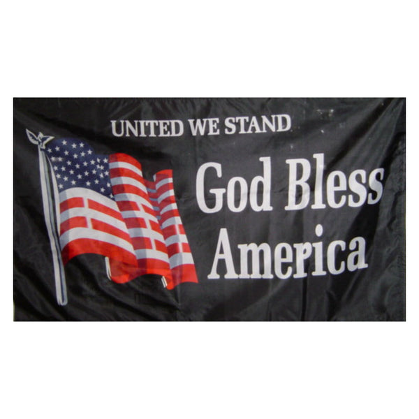 United We Stand God Bless America Flag F281