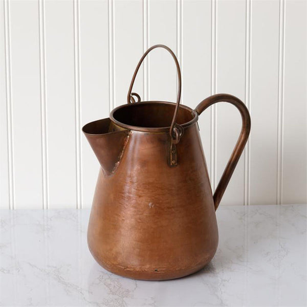 Vintage Copper Pitcher 8T1994
