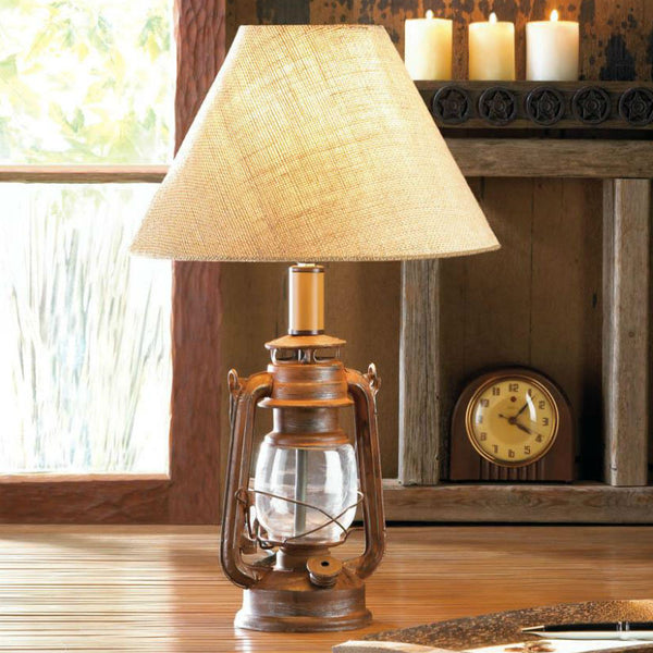 Vintage Kerosene Lantern Table Lamp 10017904