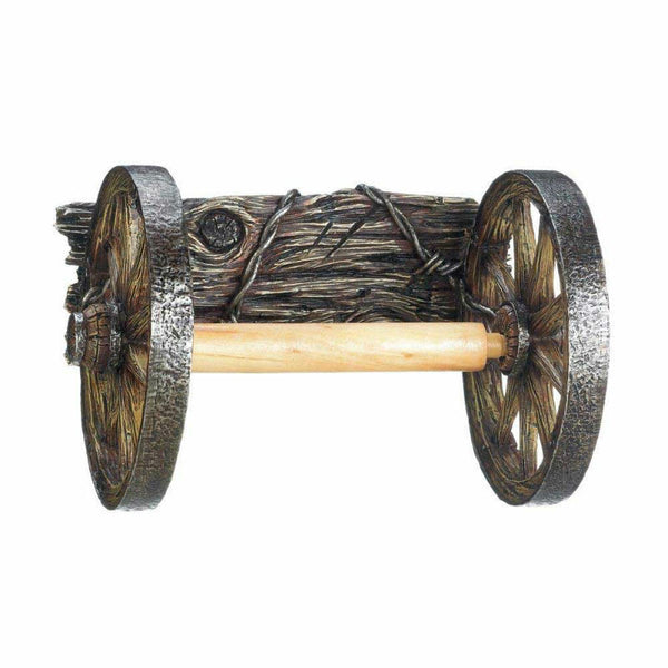 Wagon Wheel Toilet Tissue Holder 10017549