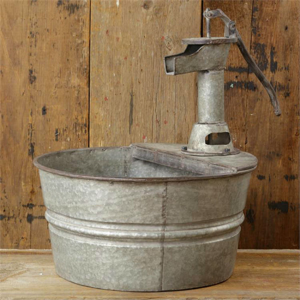 Water Pump Fountain Garden Planter 51GR1487