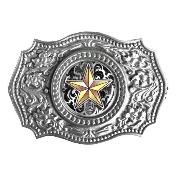 Western Star Belt Buckle G-4653