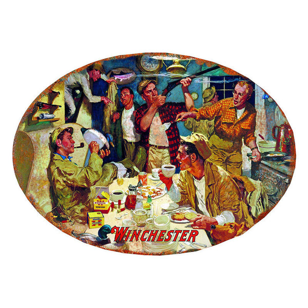 Winchester Duck Camp Tin Sign W1003