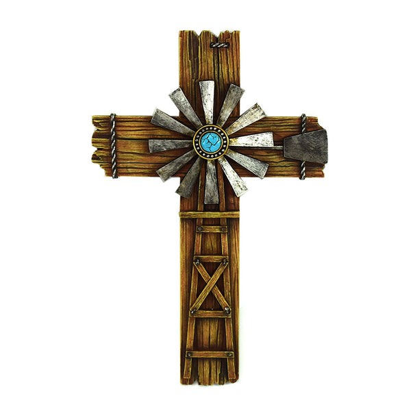Windmill Western Wall Cross 2678