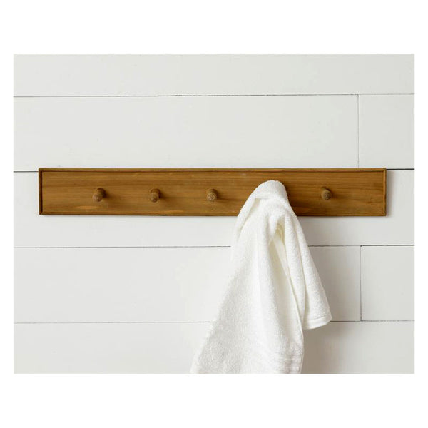 Wooden Peg Coat Rack 8W3147
