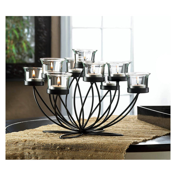 Wrought Iron Bloom Candle Centerpiece 10017176