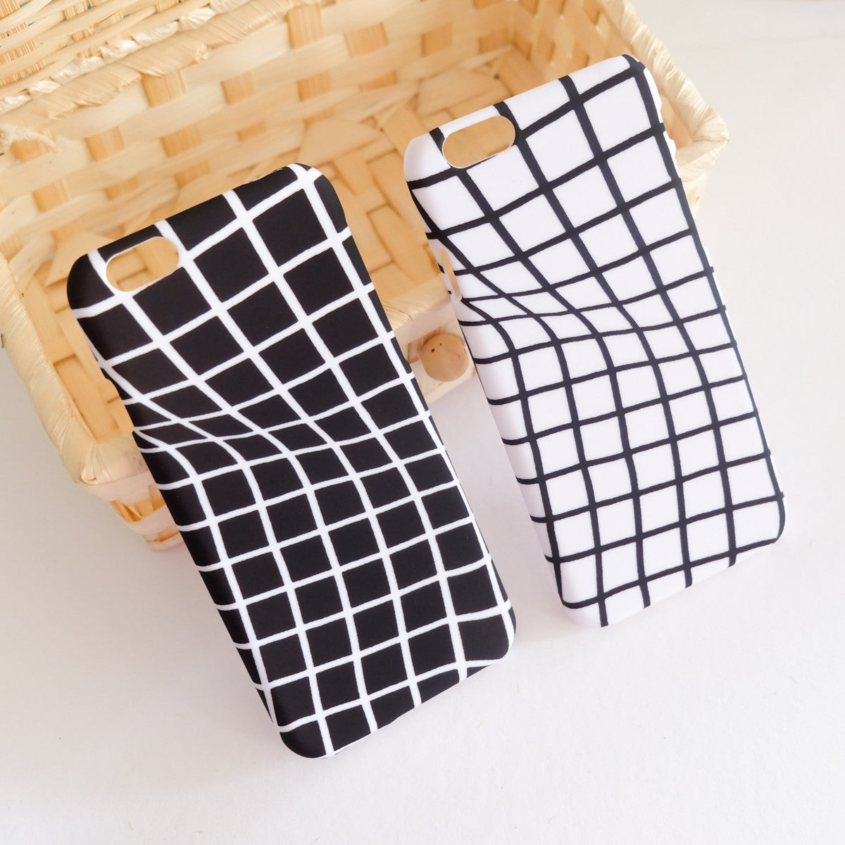 Twisted Grid iPhone Case