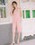Leah Lace Jumpsuit in Pink