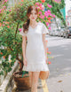 Kate Lace Dress in White