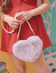 [Backorder] Furry Heart Crossbody Bag