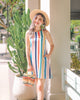 *MFW Label* Chelsia Rainbow Stripe Dress