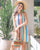 Chelsia Rainbow Stripe Dress