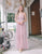 [Restocked] Avril Crochet Lace Maxi Dress in Pink