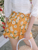 [Restocked] Yellow Daisy Shorts
