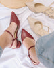 [Restocked] Spherical Pointed Heels