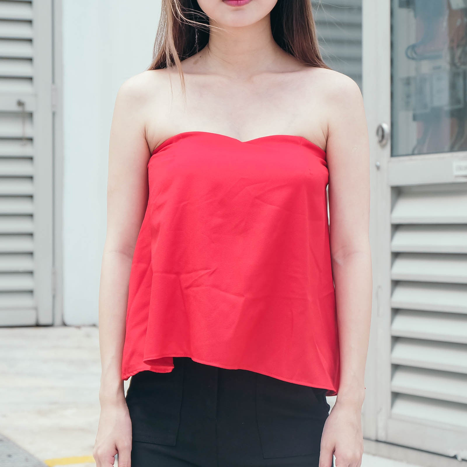Flare Tube Top