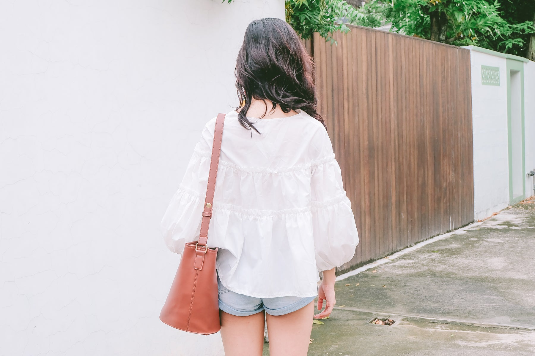 [Restocked] Structure Puff Sleeve Blouse