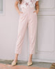 [Backorder] Millie Ankle Pants in Pale Pink