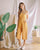 Chevelle Pinafore Jumpsuit in Mustard
