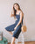 Chevelle Pinafore Jumpsuit in Navy