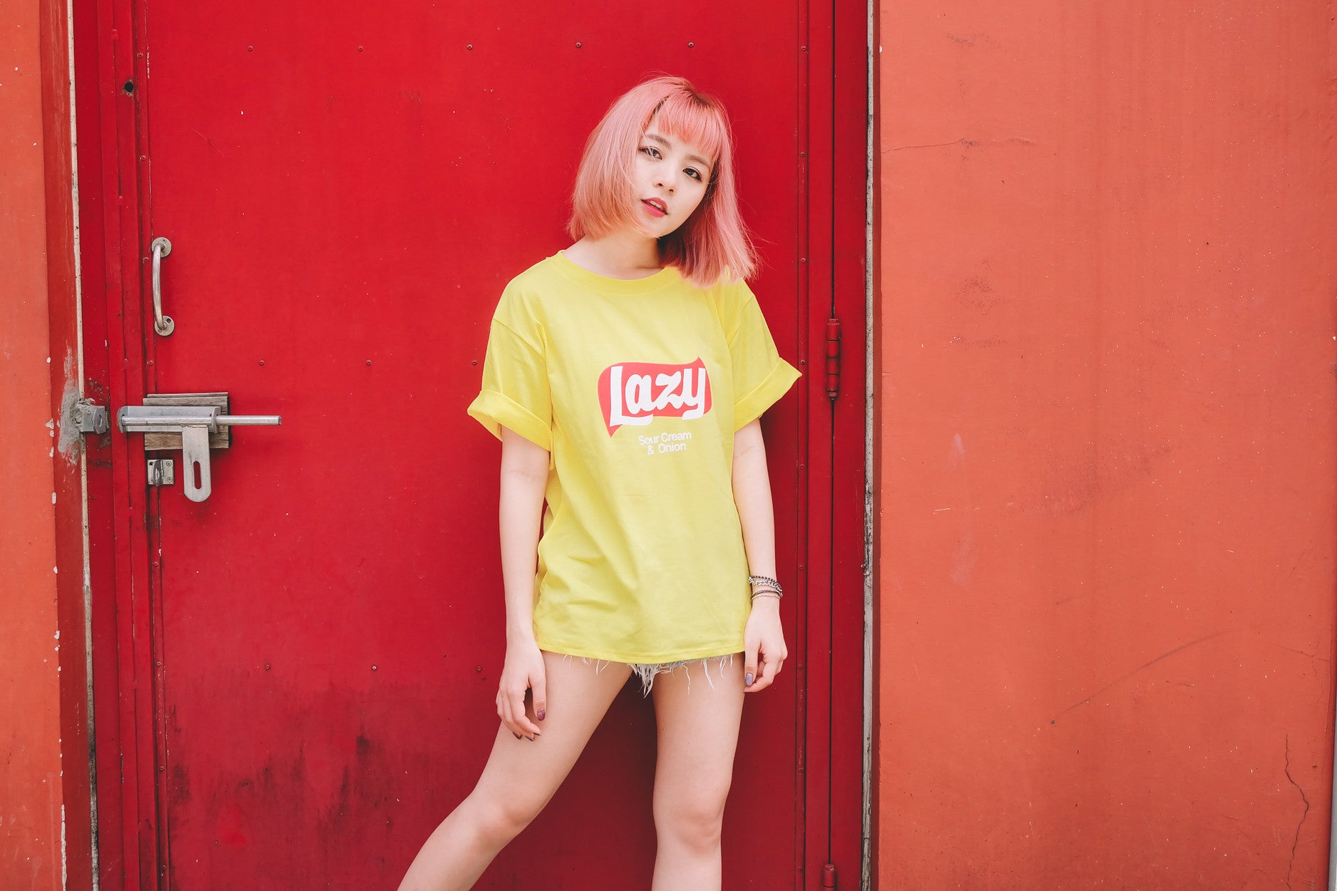 [Restocked] Lazy Tee in Yellow