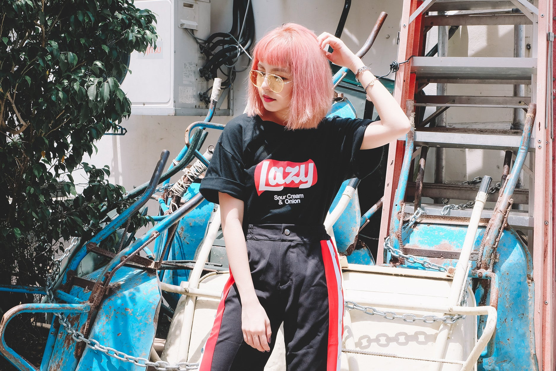 [Restocked] Lazy Tee in Black