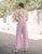 Dallas Wide Leg Pants in Lilac