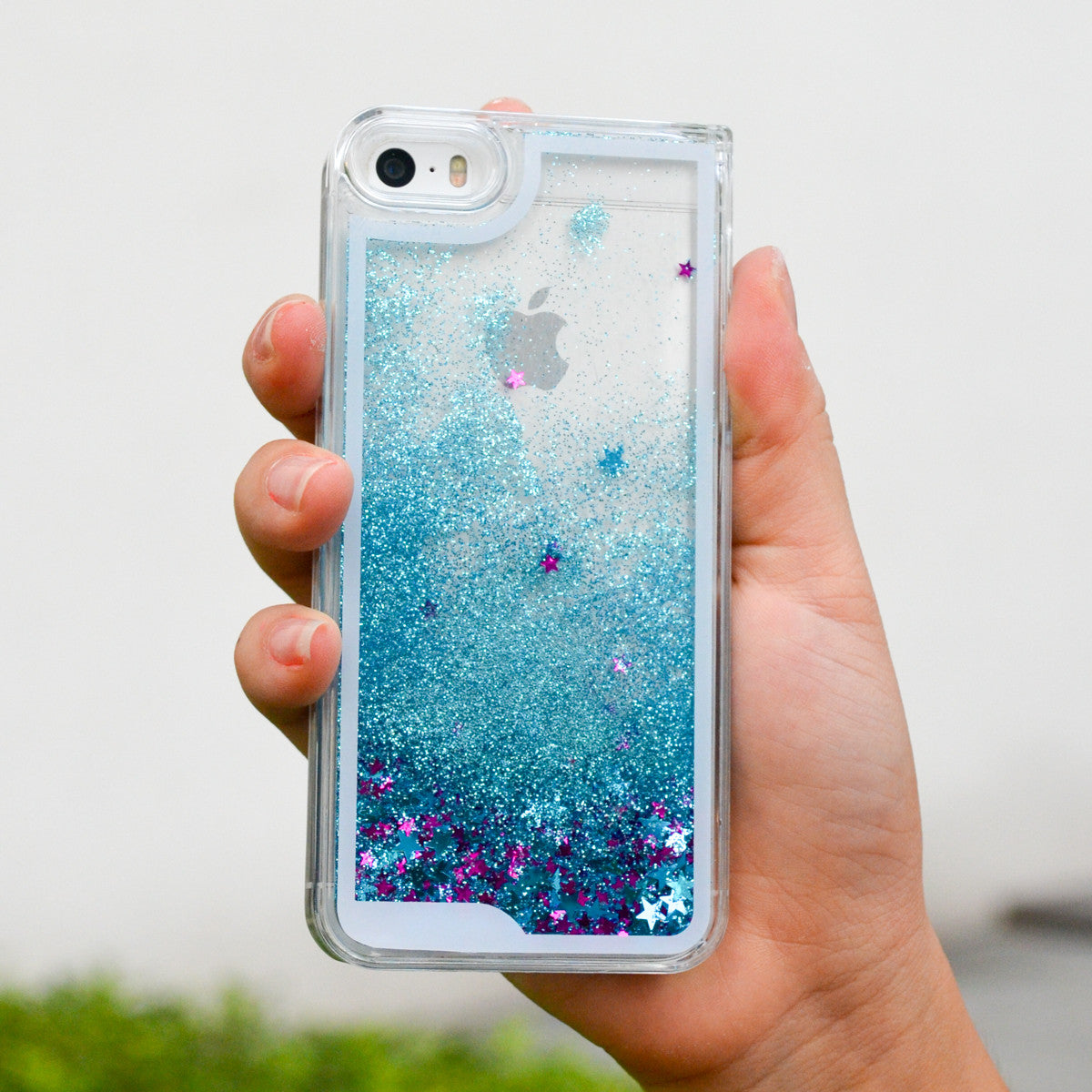 [RESTOCKED] Falling Glitter Samsung S4/S5/Note 3/Note 4 Case