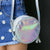 Hologram Tassel Round Bag