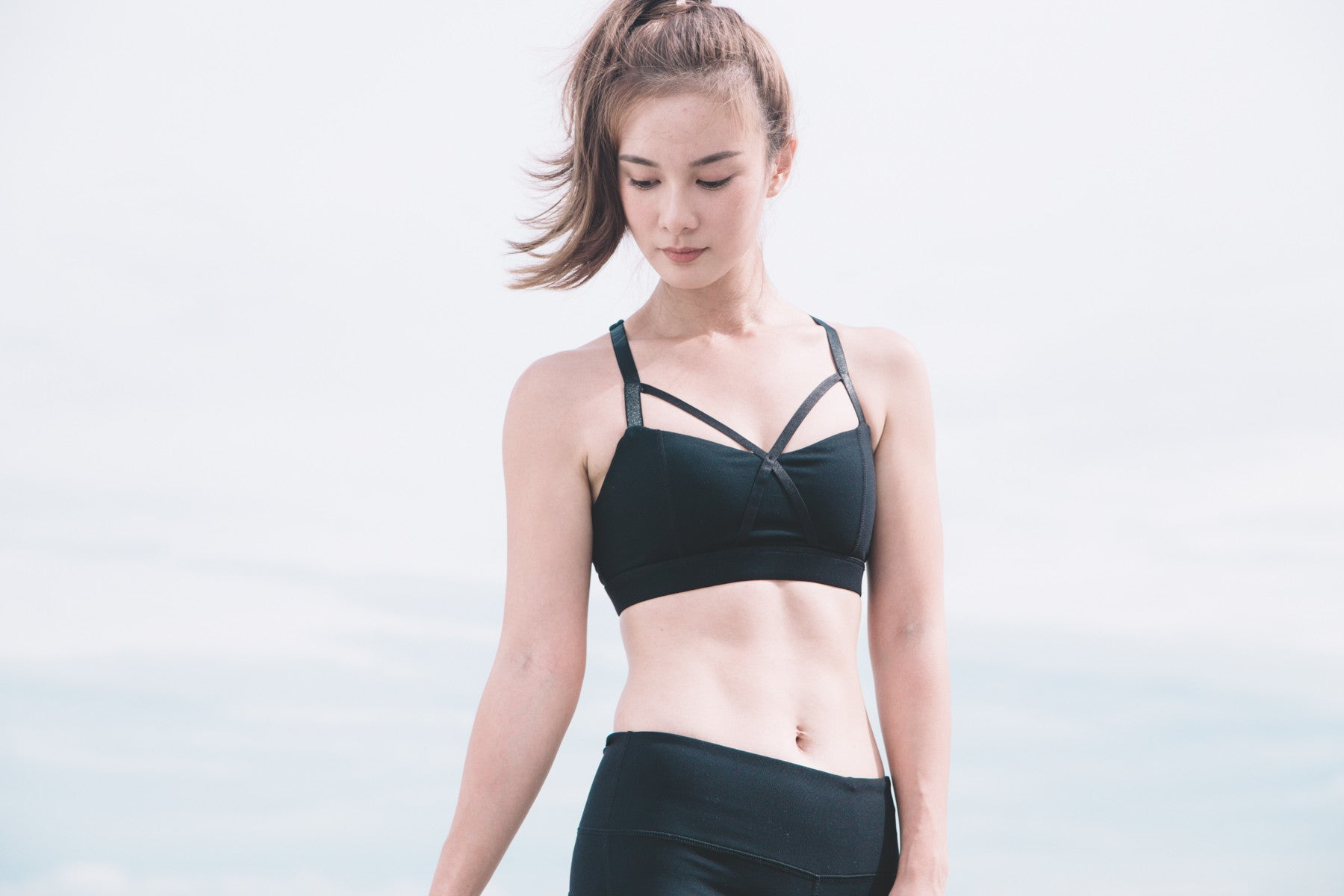 *MFW Label* Strappy Front Sports Bra