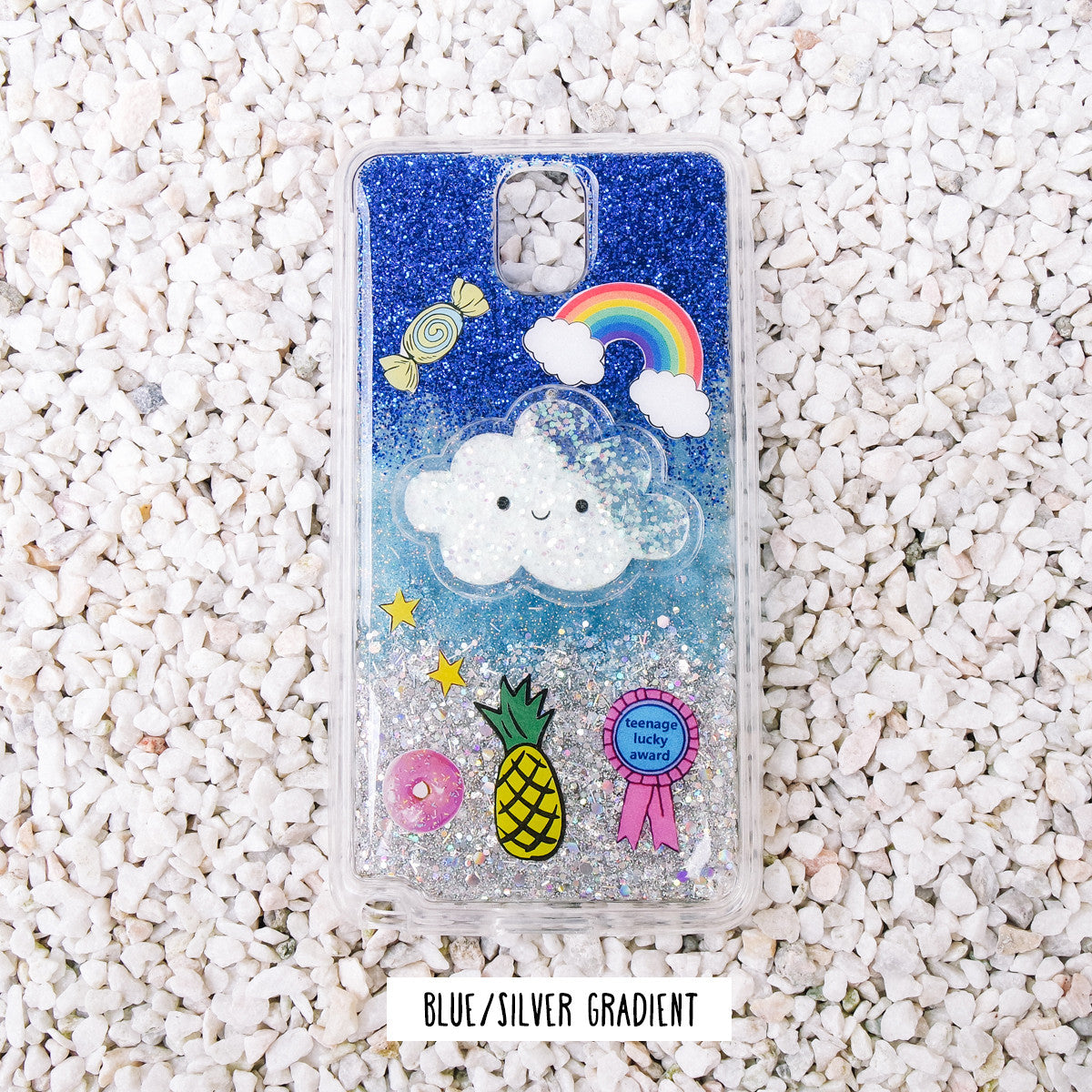 *HANDMADE* Cloud Nine Glitter Samsung Phone Case