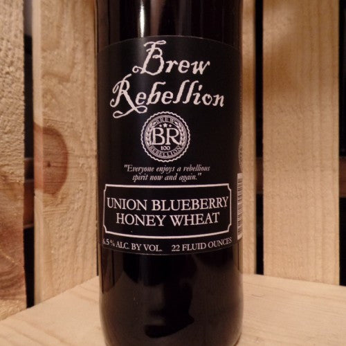 Brew Rebellion Union Blueberry Honey Wheat