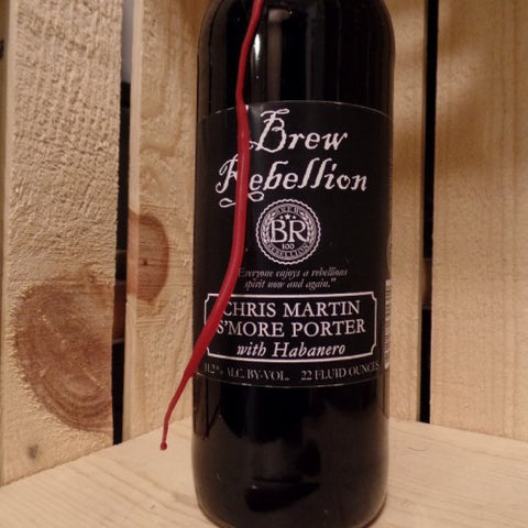 Brew Rebellion Chris Martin S'more Porter with Habanero