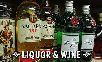 Wide Selection of Liquor