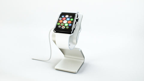 HEDock - Apple Watch Dock & Charging Stand - Side Angle