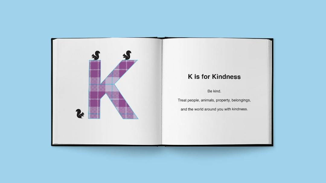 The Three Squirrels' Alphabet Book of Manners