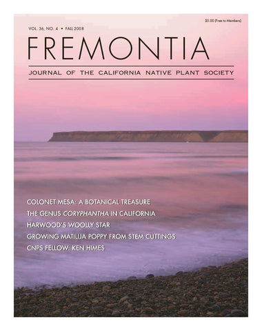 Fremontia Vol. 36, No. 4