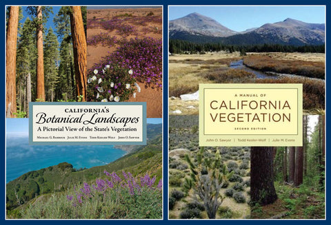 Package Deal: California's Botanical Landscapes + Manual of California Vegetation