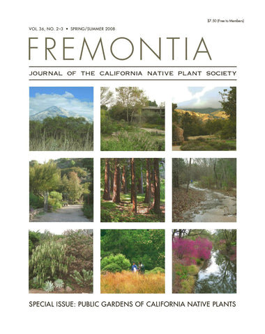 Fremontia Vol. 34, No. 2-3