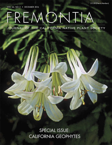 Fremontia Vol. 44, No. 3