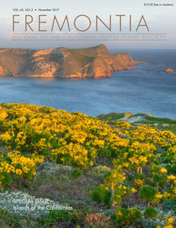 Fremontia Vol 45, No. 3