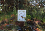 Native Plant Garden Sign